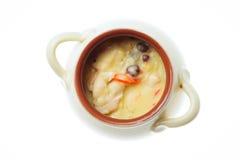 Mat som isoleras på vit bakgrund Royaltyfria Foton