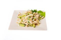 Mat som isoleras på vit bakgrund Fotografering för Bildbyråer