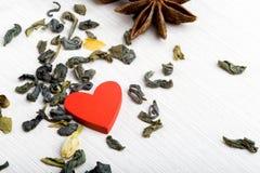 Mat som lagas mat med förälskelse inbunden vektor för valentin för daghjärtaillustration s två Fotografering för Bildbyråer