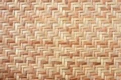 Mat Texture de bambú Imagen de archivo libre de regalías