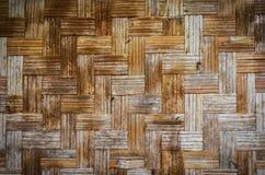 Mat Texture de bambú Foto de archivo libre de regalías