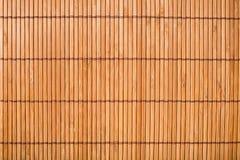 Mat Texture di bambù Immagini Stock
