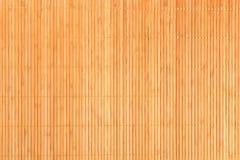 Mat Texture di bambù Fotografia Stock