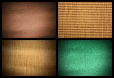 Mat textured backgrounds. Four mat textured backgrounds. Landscape orientation Royalty Free Stock Images