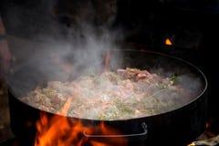 Mat till plogskivan som ?r typisk av argentinsk gastronomi arkivfoton