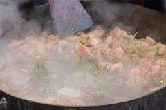 Mat till plogskivan som ?r typisk av argentinsk gastronomi royaltyfria bilder