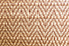 The mat weave texture background Royalty Free Stock Photo