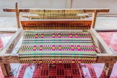 Mat weaving Stock Image