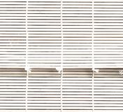 Mat white wood blinds texture. Bamboo blind. Bamboo curtain. royalty free stock image