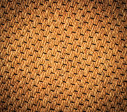 The mat from wicker water hyacinth. Thai craftsmanship; wicker water hyacinth for background royalty free stock photography
