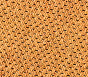 The mat from wicker water hyacinth. Thai craftsmanship; wicker water hyacinth for background stock photography