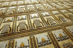 mata nr muzułmańską modlitwę Zdjęcie Royalty Free