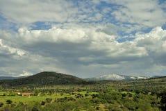 Matabueyes小山在塞戈维亚,西班牙 免版税图库摄影