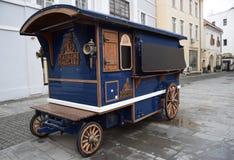 Matache Macelaru reklamy furgon Obraz Royalty Free