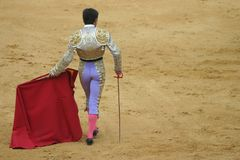 Matador Foto de Stock Royalty Free