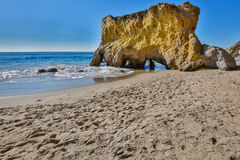 Matador Beach -- Malibu California Imagen de archivo libre de regalías