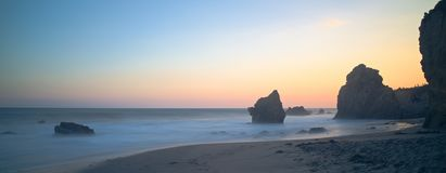 El matador blue hour. Matador blue hour beach longexposure malibu losangeles california coast pch pacificcoasthighway stock photos