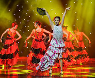 The Matador Dance ---The Spanish National Dance Stock Photography