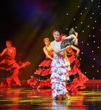 The Matador Dance ---The Spanish National Dance Stock Images