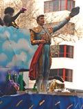 Matador on Front of Zulu Float Stock Photo