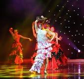 Matadora taniec ---Hiszpański Krajowy taniec Zdjęcie Stock