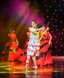 Matadora taniec ---Hiszpański Krajowy taniec Obrazy Stock