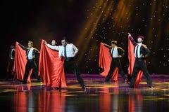 Matadora taniec ---Hiszpański Krajowy taniec Zdjęcie Royalty Free