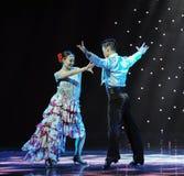 Matadora taniec ---Hiszpański Krajowy taniec Obrazy Royalty Free