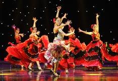 Matadora taniec ---Hiszpański Krajowy taniec Obraz Stock