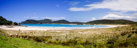 Matai Bay Panorama 1, Northland, New Zealand Stock Photography
