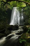 Matai waterfall in the Catlins. royalty free stock image