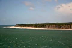 Matakana wyspa obraz royalty free