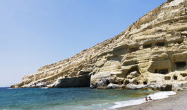 Matala Royalty Free Stock Photo