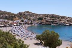 MATALA BAY, CRETE, Greece. Stock Image