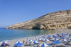 Matala, Creta Fotografia Stock