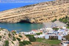 Matala, Crete Stock Photos