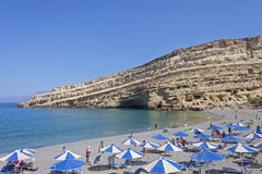 Matala, Crete Stock Photography