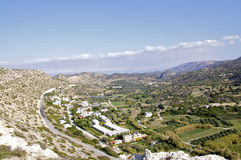 Matala Valley on Crete, Greece Royalty Free Stock Images