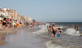 Costa de la Luz beach, Spain Royalty Free Stock Photo