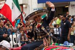 Desfile Fiestas Mexicanas. Matamoros, Tamaulipas, Mexico - February 25, 2017, Desfile Fiestas Mexicanas is part of the Charro Days Fiesta - Fiestas Mexicanas, A Royalty Free Stock Photos