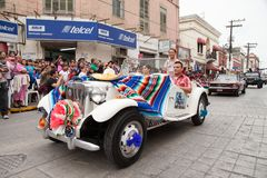 Desfile Fiestas Mexicanas. Matamoros, Tamaulipas, Mexico - March 01, 2014, Desfile Fiestas Mexicanas is part of the Charro Days Fiesta - Fiestas Mexicanas, A bi royalty free stock images