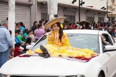 Desfile Fiestas Mexicanas. Matamoros, Tamaulipas, Mexico - March 01, 2014, Desfile Fiestas Mexicanas is part of the Charro Days Fiesta - Fiestas Mexicanas, A bi royalty free stock photos