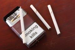 Matanças de fumo Foto de Stock Royalty Free