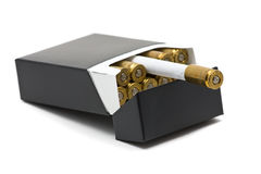 Matanças de fumo Fotografia de Stock Royalty Free