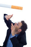 Matanças de fumo Fotos de Stock