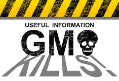 Matanças de GMO Fotos de Stock