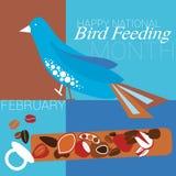 Matande månad för nationell fågel Royaltyfri Foto