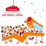 Matande månad för nationell fågel Fotografering för Bildbyråer