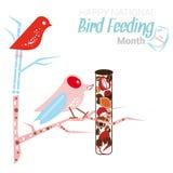 Matande månad för nationell fågel Royaltyfri Bild