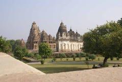 Matangeshvara and Lakshmana Temples Stock Photos
